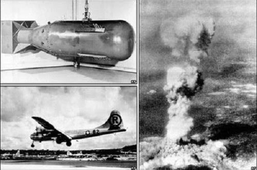 انفجار هيروشيما وناجازاكي The explosion of Hiroshima and Nagasaki