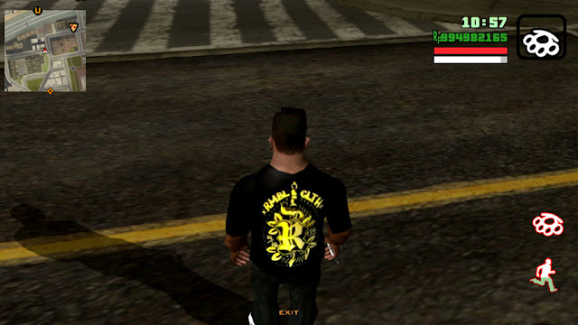 Baju rumble GTA SA Android