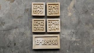 ukiran nomor rumah dari batu alam