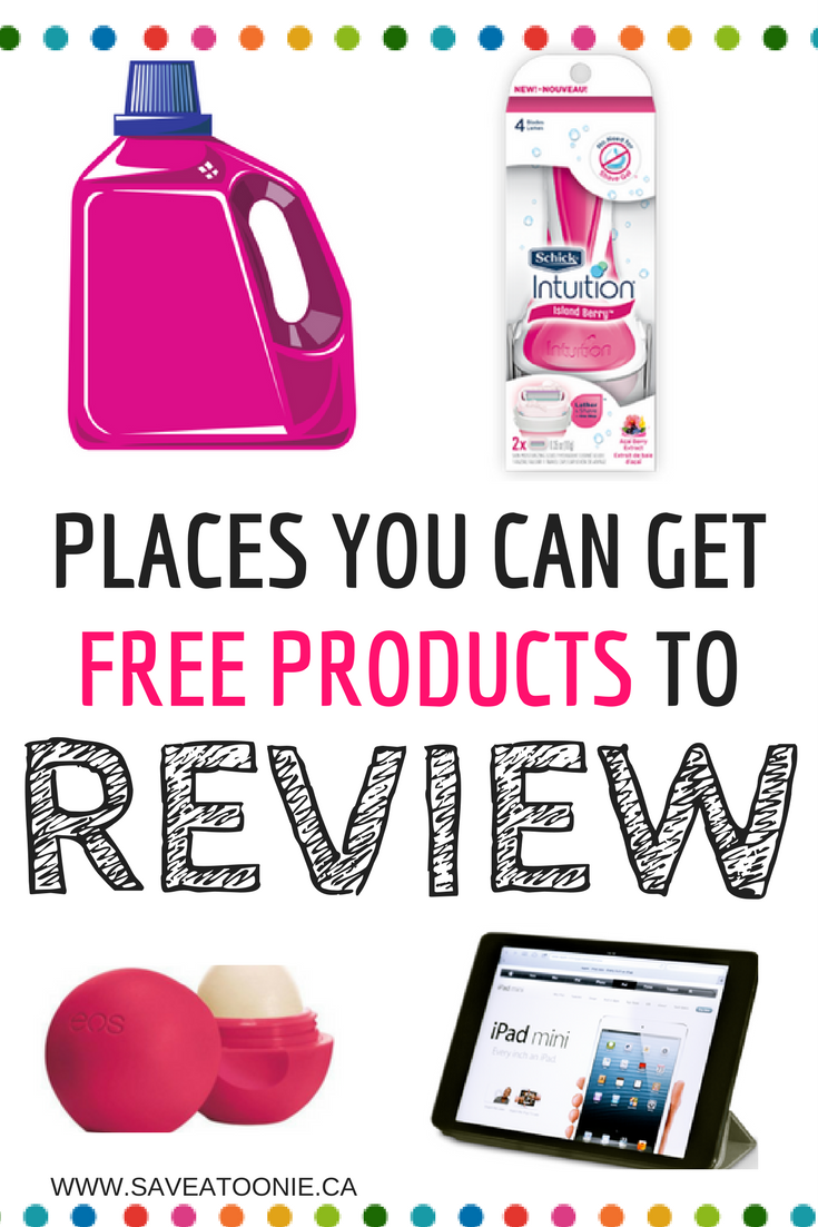 12 Places You Can Try Products Free to Review