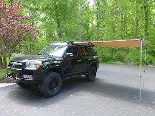 Bu Araç Yanı Tenteye Bayılacaksınız!!! Ironman 4x4 Araç Yanı Ledli Tente