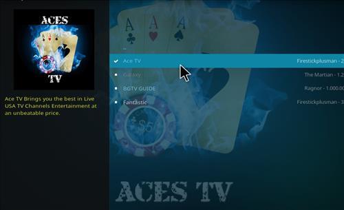 Ace TV Addon - How To Install Ace TV Kodi Addon Repo - KodiBoss