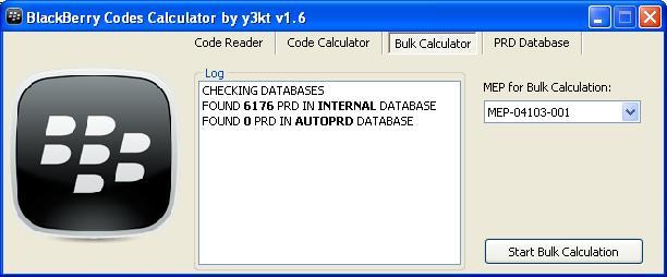 Blackberry code calculator download