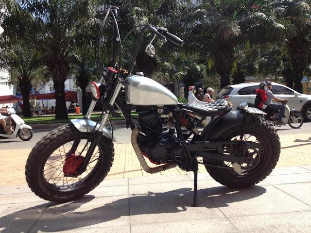 Yamaha TW độ dáng Bobber