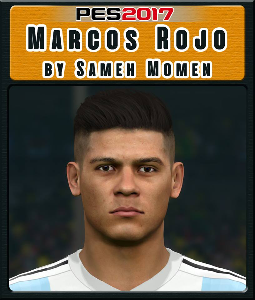 PES 2017 M. Rojo Face by Sameh Momen