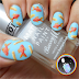 Freehand Fish & Chips - Food Nail Art