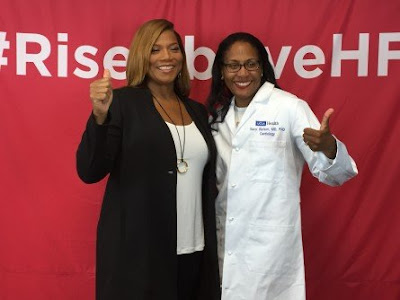 UCLA, Queen Latifah offer tips on heart failure as a family affair