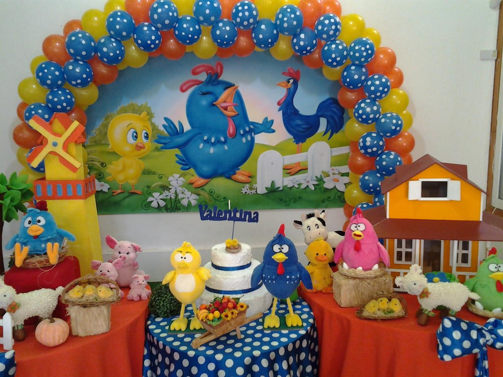 L m eventos e decora es decora o infantil galinha for Decoracion infantil barata