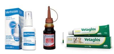 Merthiolate, iodo polvedine e Vetaglós