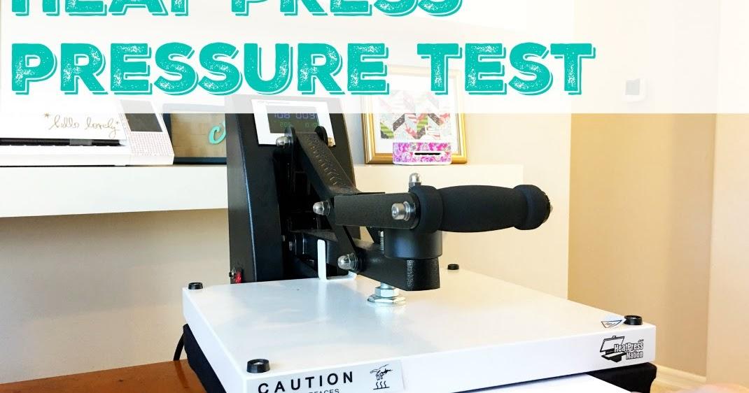 Heat Press Pressure Test The Paper Or Dollar Bill Test