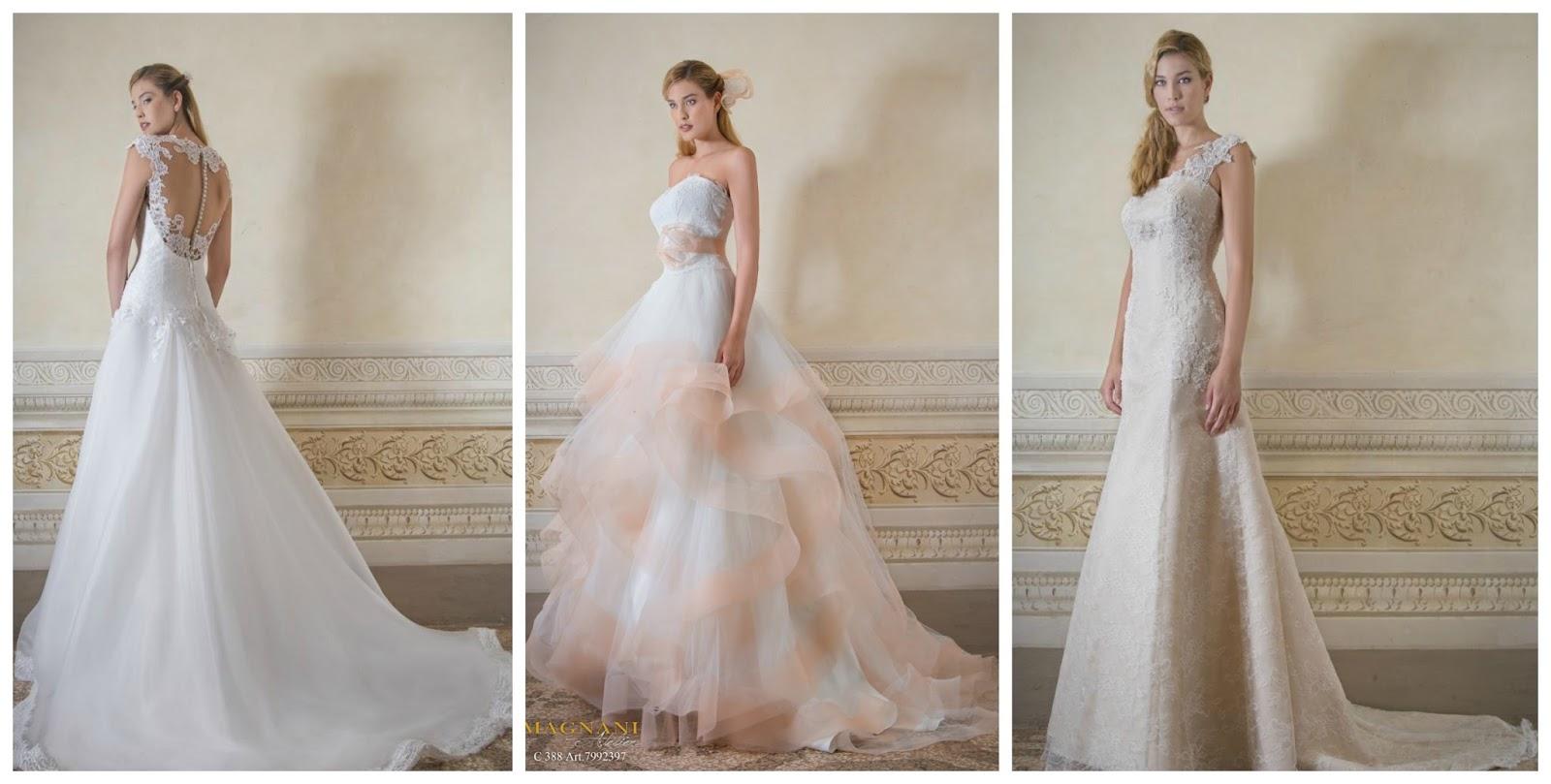 93395caab4ce Sposine - Il blog della Sposa  Gli abiti da sposa Magnani Sposa ...