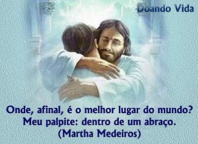 Abraço de Jesus