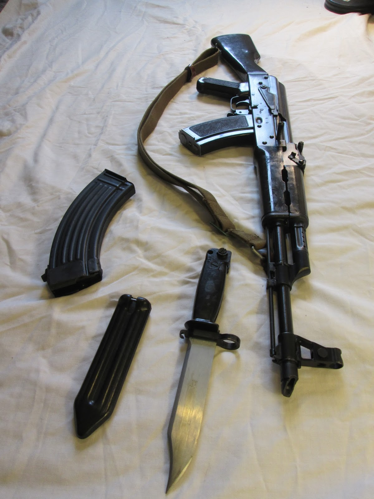 The Chinese AK-47 Blog: Chinese Bakelite AK-47 Furniture