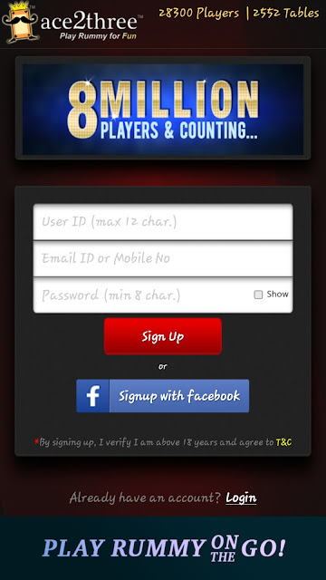 How to Get Ace2three Rummy Welcome Bonus Cash [Rs.1500 Bonus + Rs.200 Free Cash]