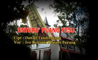 Download Lagu Toraja Unturu' Puang Yesu (Ivo) Cipt. Daniel Tandirogang