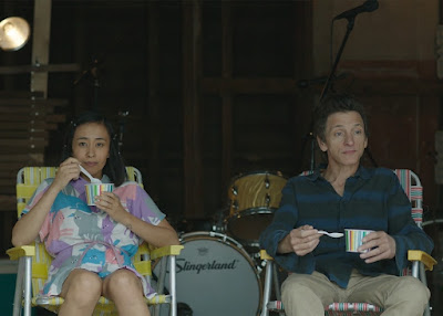 Unlovable 2018 movie still Charlene deGuzman John Hawkes