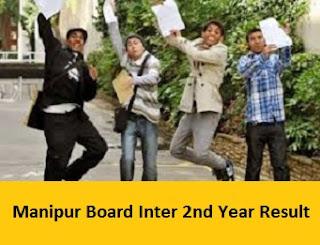 Manipur Board Inter 2nd Year Result 2017