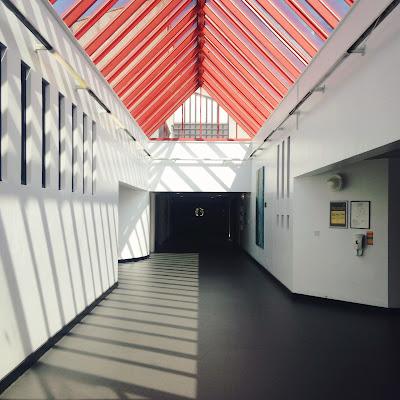 Corridor - Royal Cornhill psychiatric hospital Aberdeen