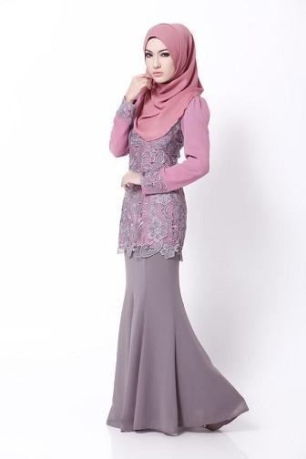 Model Kebaya Muslim Simple Dan Elegan Terbaru Paling Trendy