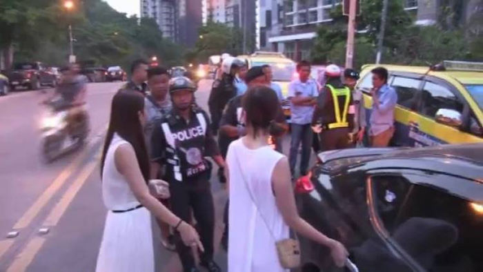 Полиция Таиланда разбирается в происходящем