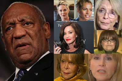 Cosby and some of his accusers