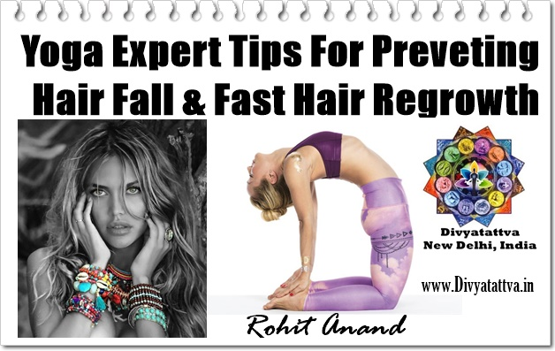 How Yoga Prevents Hair Fall & Helps Hair Regrowth fast