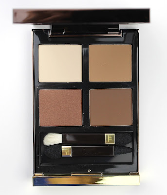 Tom Ford Eye Colour Quad Cocoa Mirage Palette Luxury high end brown neutral review swatch swatches