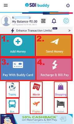 how to transfer money using sbi buddy