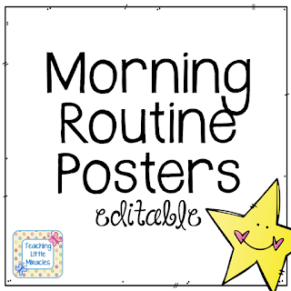 https://www.teacherspayteachers.com/Product/Editable-Morning-Routine-and-others-FREEBIE-268843