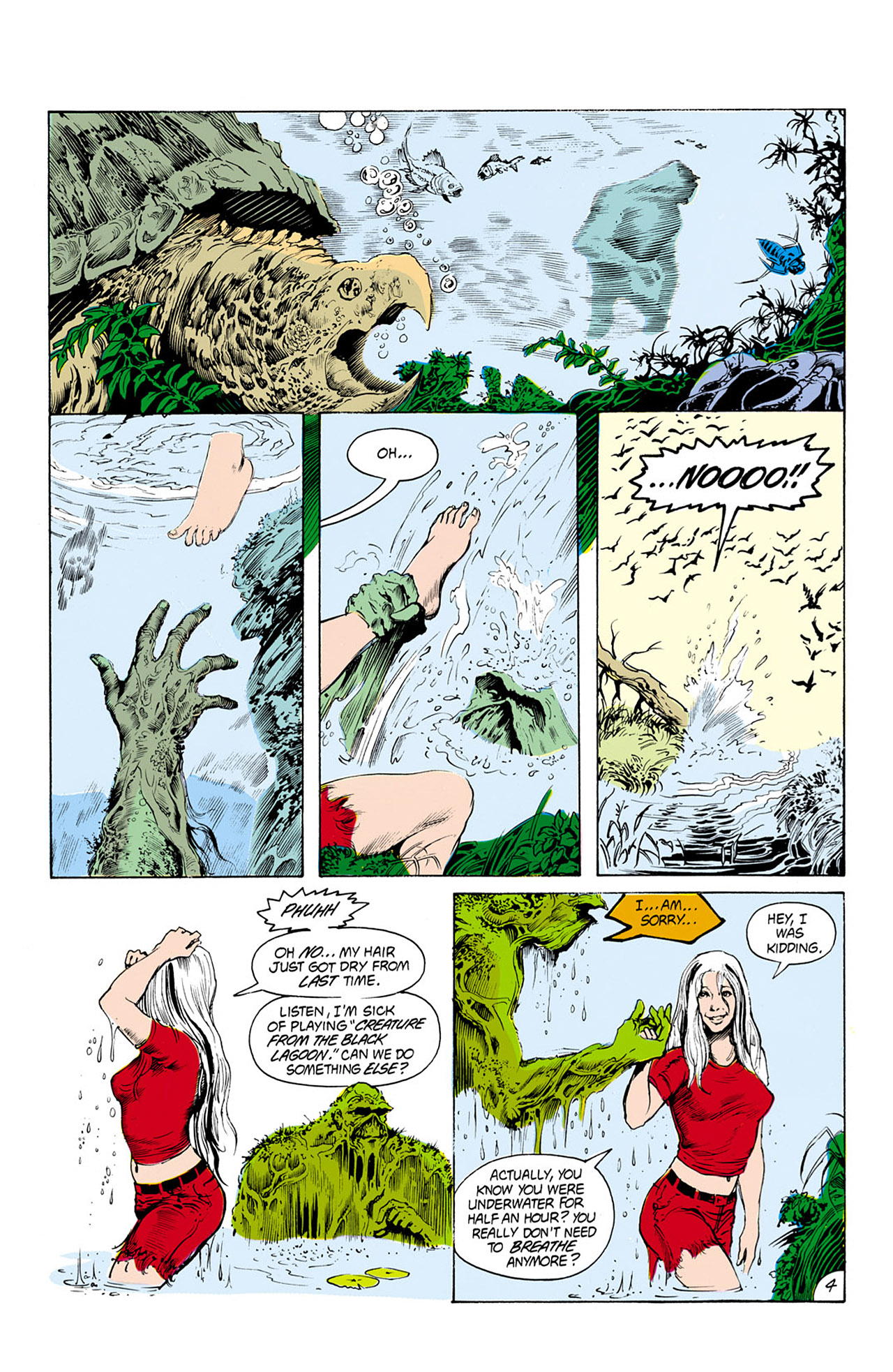 Swamp Thing (1982) Issue #25 #33 - English 5