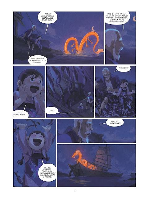 Yin et le dragon tome 2 page 10 Rue de Sèvres