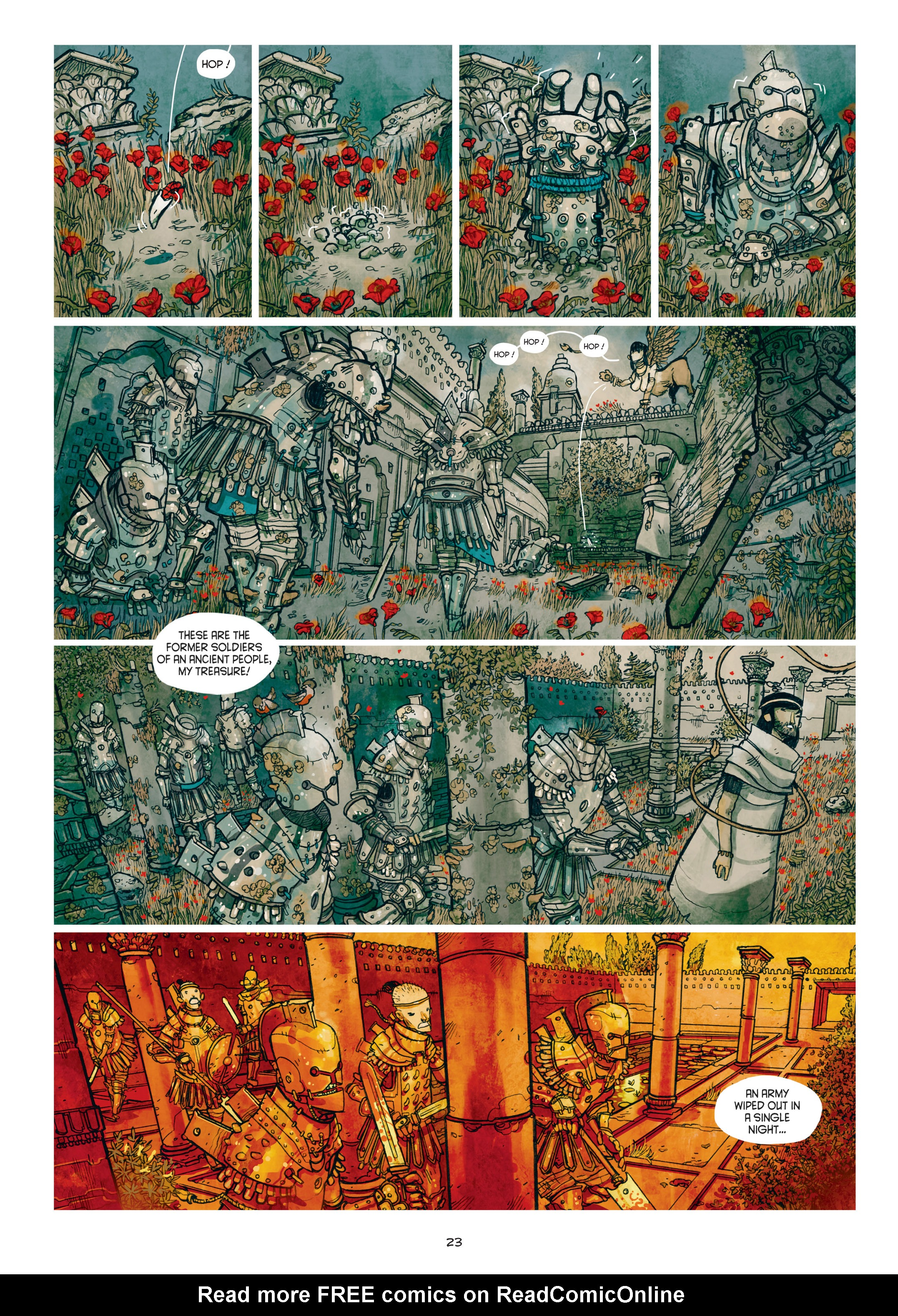 Read online Adrastée comic -  Issue #1 - 24