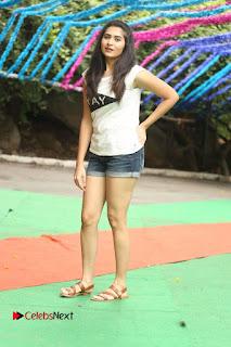 Actress Vyoma Nandi  Pictures in Shorts at Haritha Haram Event  0184.JPG