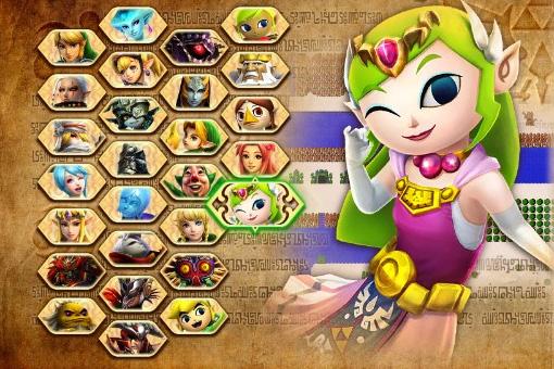 Hyrule Blog The Zelda Blog Hyrule Warriors Current Roster Screen