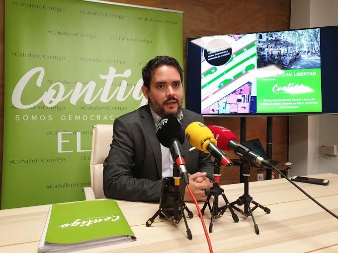 David Caballero presenta el proyecto que va a transformar la  ciudad