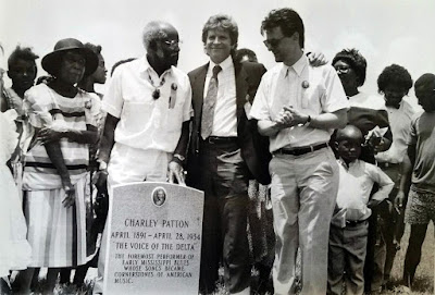 """(L to R) Rosetta Patton Brown, Roebuck """"Pops"""" Staples, John Fogerty, and MZMF founder Skip Henderson"""