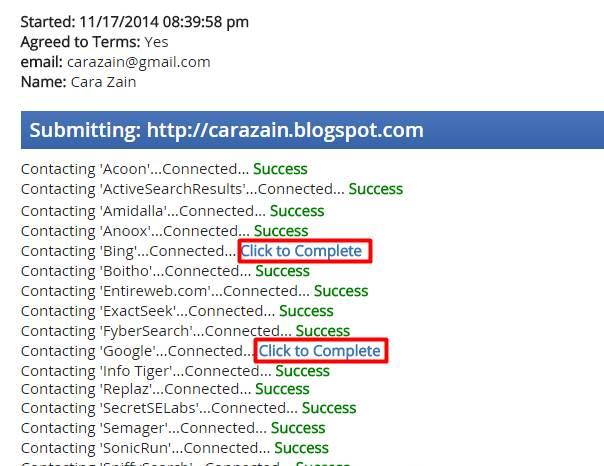 Cara Mendaftarkan Blog Ke 50 Search Engine Sekaligus