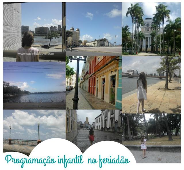 Agenda infantil em Recife Pernambuco