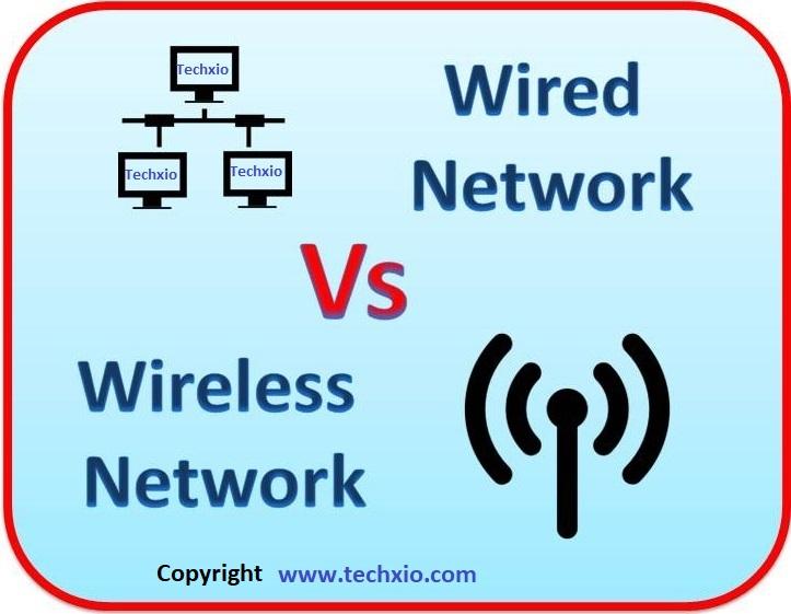Wired Network Vs Wireless Network - Techxio.com