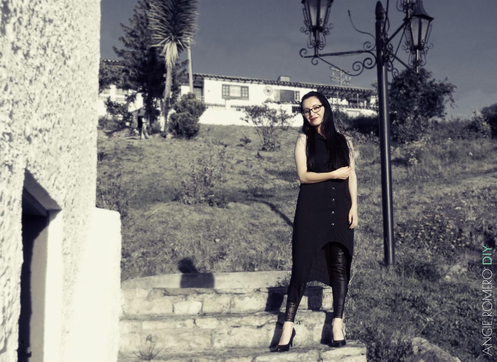 Cómo vestir color negro al estilo gótico y rockero