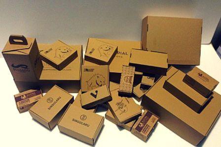 cajas automontables, cajas para envíos.