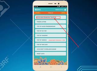 Cara Membeli Pulsa Menggunakan Aplikasi Mobile BNI Banking Terbaru