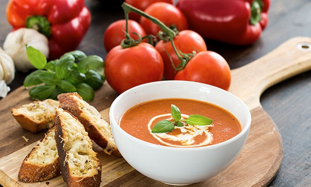 How to Make Tomato Pepper Soup