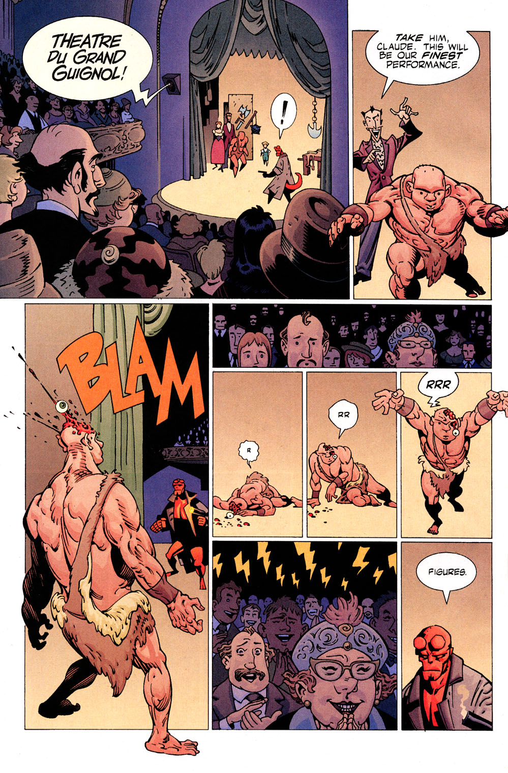 Read online Hellboy: Weird Tales comic -  Issue #6 - 6