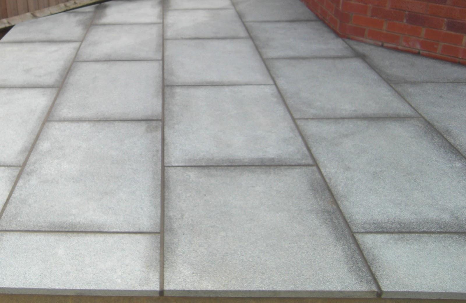 A life designing garden design ideas how to lay garden for Garden patio slab designs