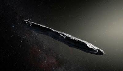 Ada Kehidupan Alien di Asteroid Antarbintang Berbentuk Cerutu?
