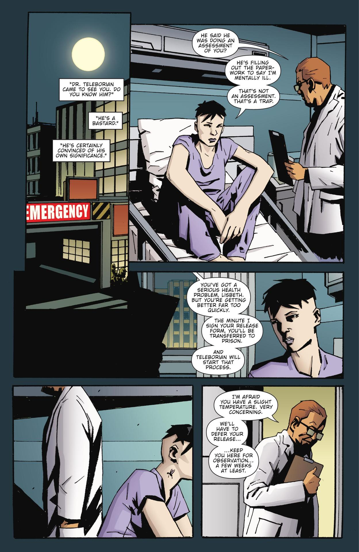 Read online The Girl Who Kicked The Hornet's Nest comic -  Issue # TPB - 156