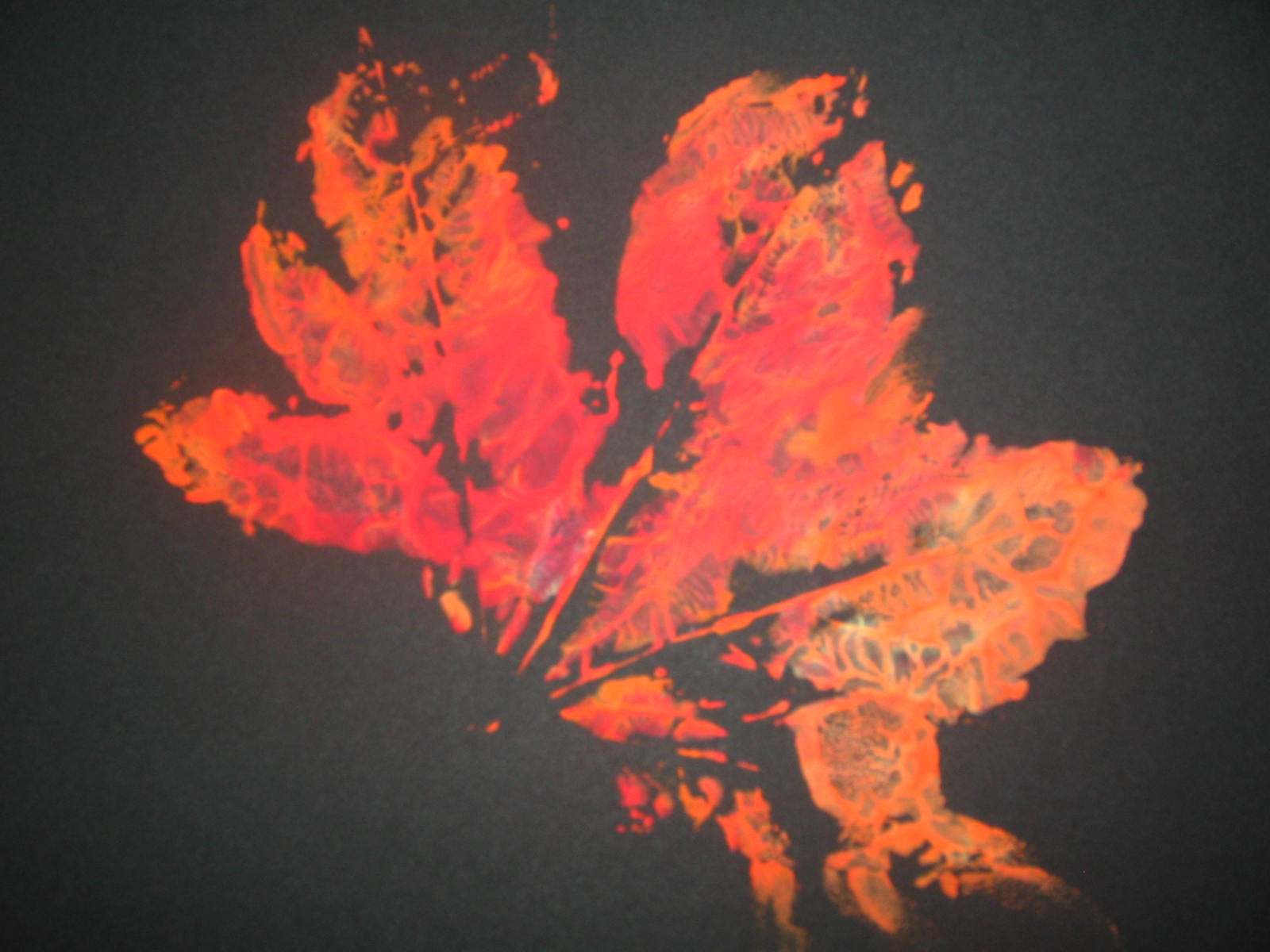 Art And Soul Preschool Leaf Print Making
