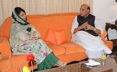Srinagar, Rajnath Singh, Jammu and Kashmir, Chief Minister, Mehbooba Mufti, N N Vohra, Security Agencies, Anantnag