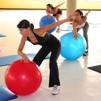 Pilates con pelota